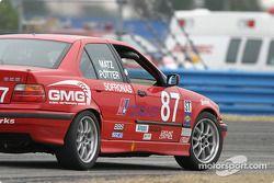 La BMW 328i n°87 du DF Motorsports (Manny Matz, James Sofronas, Jason Potter)