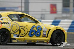 La Mazda RX-8 n°68 de SpeedSource (Scott Schlesinger, David Tuaty)