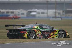 #45 Gunnar Racing Porsche Fabcar: Gunnar Jeannette, Kyle Petty, Paul Newman, Michael Brockman spins
