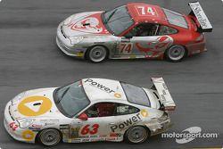 #63 Glenn Yee Motorsports Porsche GT3 Cup: Hugh Plumb, Geoff Escalette, Kim Wolfkill, Mike Lewis