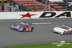 Race restart: #2 Howard - Boss Motorsports Chevrolet Crawford: Andy Wallace, Dale Earnhardt Jr., Tony Stewart, and #46 Michael Baughman Racing Corvette: Peter Argetsinger, John Pew, Mark Patterson, Dario Cioti, Jim Victor