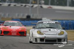 La Porsche GT3 RS n°44 du Orbit Racing (Jay Policastro, Joe Policastro, Robin Liddell, Johnny Mowlem, Mike Fitzgerald)