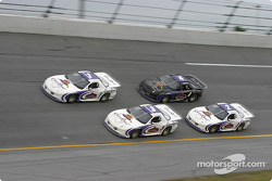 Dick Trickle, Dave Marcis, Jay Sauter and Jim Sauter