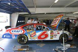 Roush Racing garage area