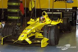 Timo Glock garajı