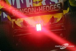 Timo Glock'in red light