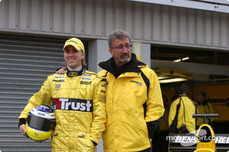 Nick Heidfeld et Eddie Jordan