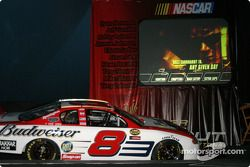Presentation of Dale Earnhardt Jr.'s new DVD entitled 'Any given day'