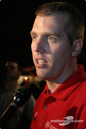 Bud Pole winner Jeremy Mayfield for the Budweiser Shootout