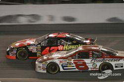 Jamie McMurray and Dale Earnhardt Jr.