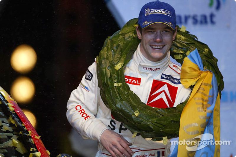 Sébastien Loeb, nueve veces campeón del mundo del WRC (de 2004 a 2012)