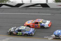 Brian Vickers et Ricky Craven