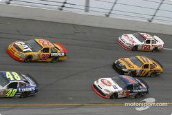 Scott Wimmer, John Andretti, Matt Kenseth et Dave Blaney