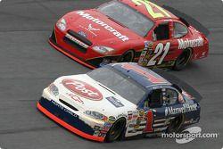 John Andretti et Ricky Rudd