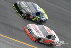 Brian Vickers et Sterling Marlin