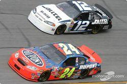 Jeff Gordon et Ryan Newman