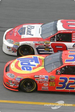 Dale Earnhardt Jr. et Ricky Craven