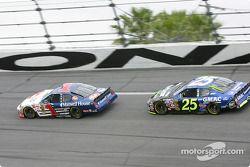 John Andretti and Brian Vickers