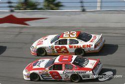Dale Earnhardt Jr. et Dave Blaney