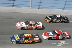 Greg Biffle, Dave Blaney, Dale Earnhardt Jr. Et Kurt Busch