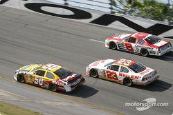 Derrike Cope, Dave Blaney et Dale Earnhardt Jr.