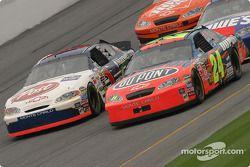 John Andretti et Jeff Gordon