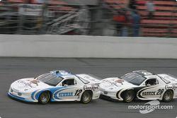 Ryan Newman et Kevin Harvick