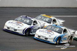 Kurt Busch et Ryan Newman