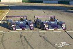 Les pilotes de l'Audi R8 Audi Sport UK Team Veloqx