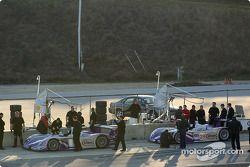 Audi Sport UK Team Veloqx se prépare pour la séance d'essais