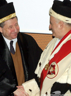 Jean Todt receives an honorary degree