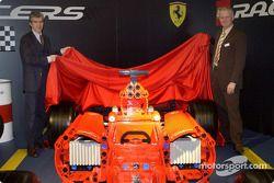The Ferrari F1 in Lego