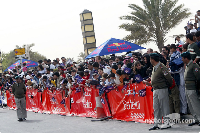 Fans à Bahrain