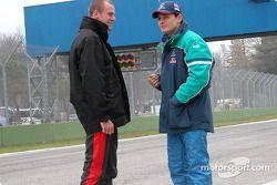 Gianmaria Bruni et Giancarlo Fisichella