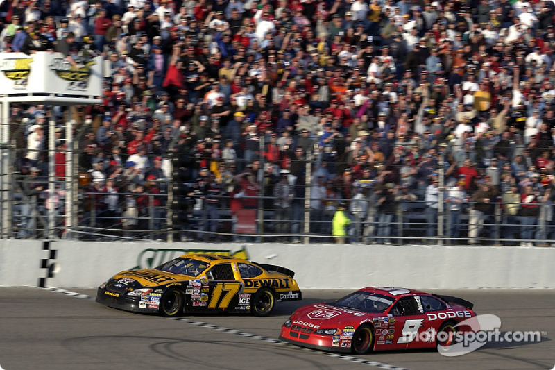 Rockingham 2004: Matt Kenseth und Kasey Kahne