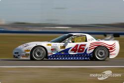 #46 Michael Baughman Racing Corvette: Peter Argetsinger, John Pew, Mark Patterson, Dario Cioti, Jim Victor