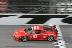 #93 Mastercar Ferrari 360GT: Luca Drudi, Matteo Meneghello, Ferdinando Monfardini, Joe Colasacco, Ross Fonferko