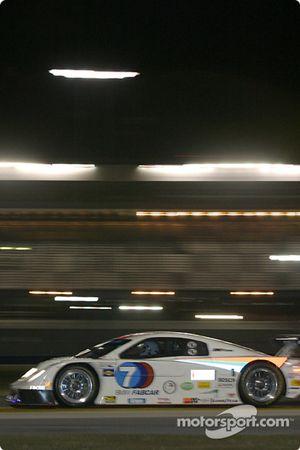 La BMW Fabcar n°7 du Southard Motorsports (Shane Lewis, Jack Baldwin, George Robinson, Steve Southard, Vic Rice)