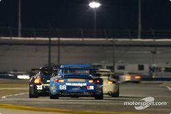 La Porsche GT3 RS n°68 de l'équipe The Racers Group (Ian James, RJ Valentine, Chris Gleason, Abraham