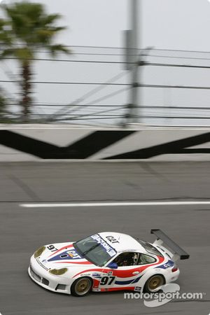 La Porsche GT3 RS n°97 du Graham Nash Motorsport (Robert Orcutt, Ken Dobson, Kurt Teal, Paul Jenkins