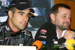 Conférence de presse : Zsolt Baumgartner et Paul Stoddart