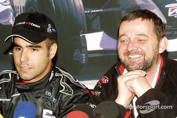 Press conference: Zsolt Baumgartner and Paul Stoddart