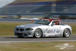 La BMW Z4 n°12 du TC Kline Racing (Anita Sangi, Neal Sapp)