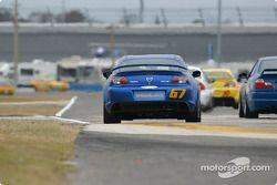 La Mazda RX-8 n°67 de SpeedSource (Nick Fanelli, Rich Walker, Gary Wollersheim)