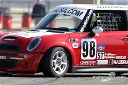 #98 Competition Associates Mini Cooper S: Vesko Kozarov, Scott Smith