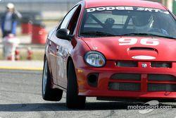 La Dodge Neon SRT4 n°96 de l'équipe The Fat and The Furious (Britt Ponder, James Green)