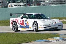 La Corvette n°46 du Michael Baughman Racing (Gary St. Amour, Mike Yeakle)