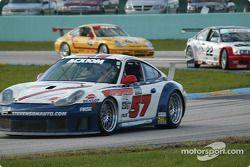 La Porsche GT3 RS n°57 du Stevenson Motorsports / Auto Assets (Chip Vance, John Stevenson, Shane Lew