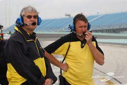 Des membres du Keith Duesenberg Racing