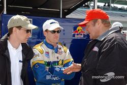 Paul Dana and team owner Ron Hemelgarn
